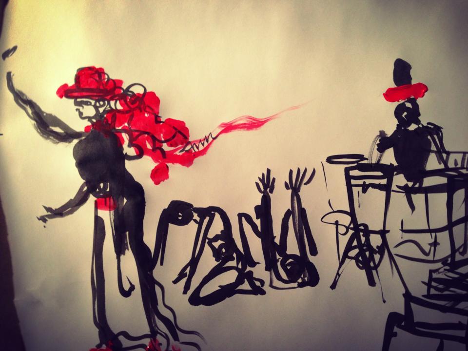 Art by Nancy Ostrovsky, BLANK SLATE #1,