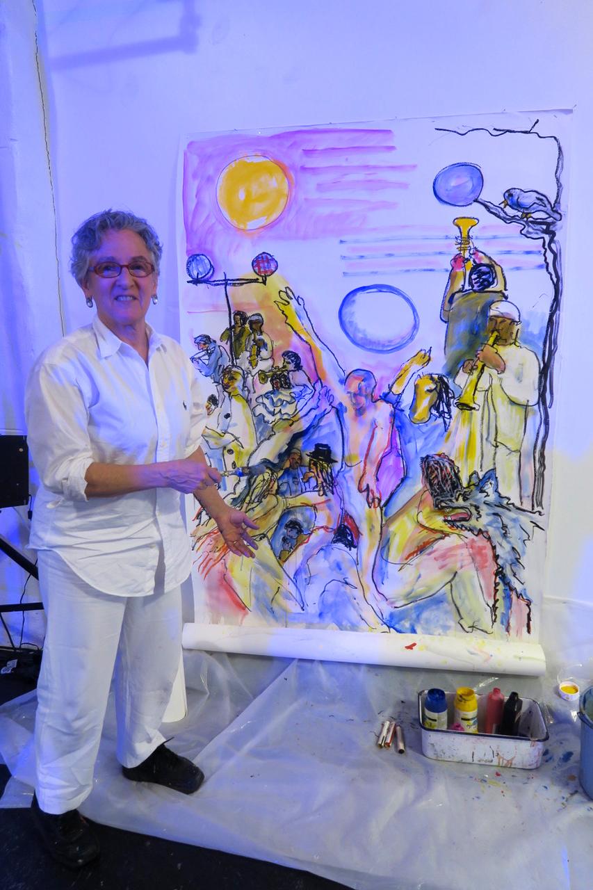 Tamar Ettingen painting